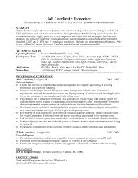 java resume java developer resume sle resume cover letter template