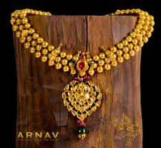 indian gold temple jewellery from south india with kundan work
