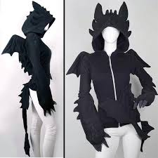 get toothless with this how to train your dragon hoody toothless