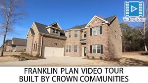 franklin floorplan by crown communities in columbia u0026 lexington sc
