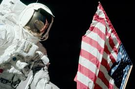Is The American Flag Still Standing On The Moon Last Lunar Landing Launched 40 Years Ago Collectspace