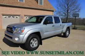 toyota tacoma silver hd video 2010 toyota tacoma sr5 double cab 4x4 used for sale see