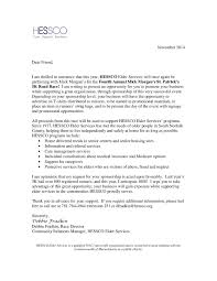 Thank You Letter After Sponsorship Meeting sponsorship executive cover letter