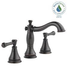 Delta Lakeview Faucet Bronze by Delta Venetian Bronze Faucet Cintinel Com