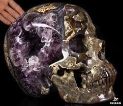 Amazing Skull - amazing amethyst geode titan 10 8 dinosaur egg agate carved