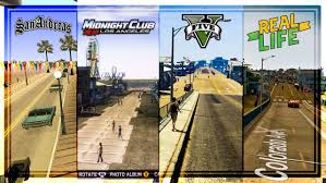 Star Maps Los Angeles by Comparing Los Angeles In Rockstar U0027s Games To Real Life Gta 5 Vs
