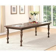 Cypress Dining Table by Abbyson Cypress Brown Rubberwood Dining Table Free Shipping