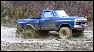 1979 Ford Truck Mudding - wilson lane 77 ford truck in the play mud bog youtube