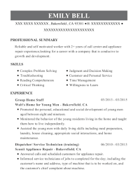 walt u0027s home for young men group home staff resume sample