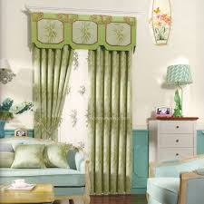 Light Green Curtains by Bamboo Pattern Light Green Thermal Curtain No Valance 2016 New