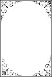 cornici in word formal black and white borders for word search boarders