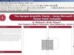 microsoft powerpoint templates for posters poster design with powerpoint template youtube