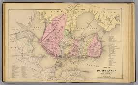 Map Of Portland by Portland U0026 Vicinity Me David Rumsey Historical Map Collection