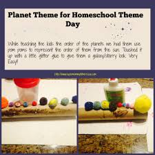 planets theme craft u2013 homeschool theme day super mommy to the rescue