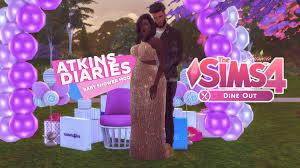 mod baby shower let s play the sims 4 dine out the atkins diaries the baby