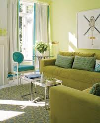 Mint Green Curtains Furniture Living Room Ith Yelow Green Color Sofa Sets With Blue