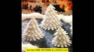 easy crochet christmas ornaments youtube