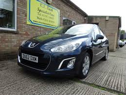 peugeot uk used used blue peugeot 308 for sale suffolk