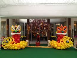 Make Lunar New Year Decorations by Chinese New Year Balloon Decorations Balloon Chinese New Year