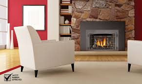 Electric Vs Gas Fireplace by Napoleon Infrared 3 Gas Fireplace Insert Ir3