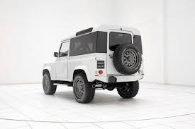 land rover white black rims land rover defender tuning startech refinement