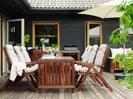 Outdoor  Patio Furniture IKEA - Wood patio furniture