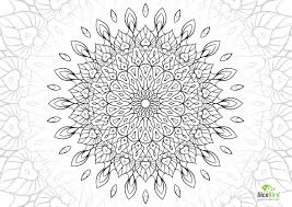 queen mandala flower free complex coloring pages