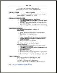 Dental Hygiene Resume Samples by Home Design Ideas Dental Assistant Resume Examples Dental