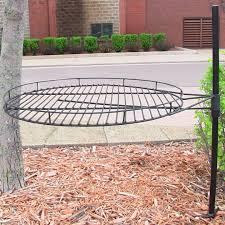 garden treasures fire pit adjustable cooking grate garden landscape