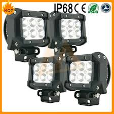 Led Light Bar Headlight by 18w 6 Led Suv Off Road Led Light Bar Boat Headlight Spot Led