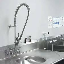 restaurant kitchen sink faucets new commercial kitchen restaurant sink tap pre rinse faucet sprayer