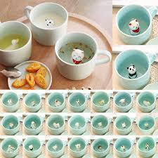 3d cartoon cute animal ceramic milk coffee tea mug u2013 panda lola