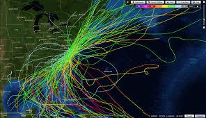 Virginia Beach Map Noaa U0027s Nifty Interactive Hurricane Map U2013 Skytruth