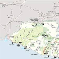 santa map maps santa mountains national recreation area u s