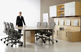 Office Furniture Table Meeting Conference Rooms Corporate Office Interiors
