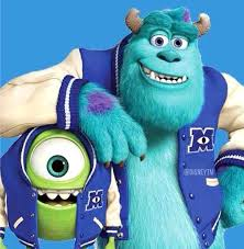 monsters university caricaturas