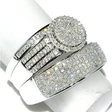 Wedding Rings Sets His And Hers by Diamond Rings Sets Antique Wedding Ring Set Diamond Ring Sets Uk