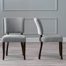 Brookline Tufted Dining Chair Threshold Dining Chair Brookline Tufted Charcoal Tobacco