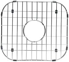 Amazon Com Interdesign Gia Kitchen Sink Protector Wire Grid Mat by Wells Sinkware Gww1314 Kitchen Sink Grid Stainless Steel