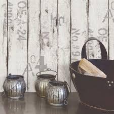papiers peints cuisine leroy merlin papier peint vinyle sur intissé wood and letters blanc larg
