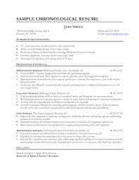 Sales Position Resume Examples by Examples Of A Job Resume