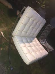 Barcelona Chairs For Sale Clearance Sale Barcelona Lounge Set Italian Leather Other