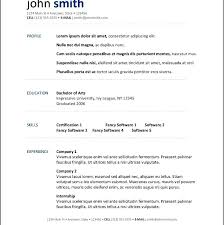 resume templates for openoffice resume templates for openoffice open office resume template