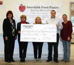 jcp u0026l harvest for hunger campaign supports interfaith food pantry