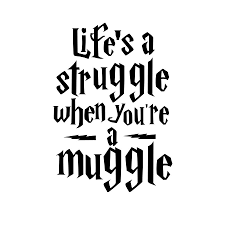aliexpress com buy life is a struggle harry potter vinyl quotes