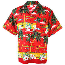aloha shirt coconut lifeguard tower isle s han243r