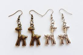 giraffe earrings giraffe earrings giraffe jewelry giraffe gift safari earrings
