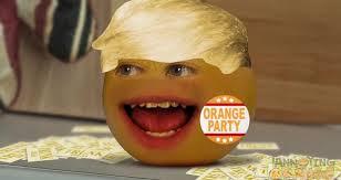 annoying orange meets donald trunk metatube