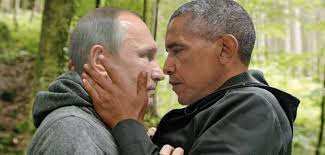 Obama Putin Meme - obama and putin s icy death stare gets a presidential photoshop battle