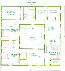 interior courtyard house plans open courtyard house plans kerala arts and images small with floor